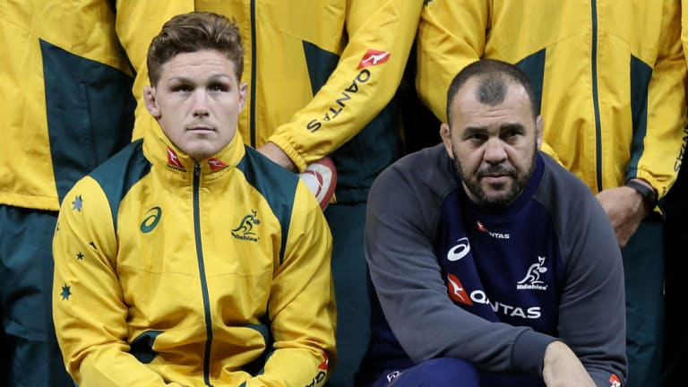 Something amiss: The Wallabies are three wins from 11 Tests this year.