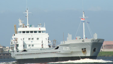 Jie Shun, the ship filled with rocket-propelled grenades that has become a focus of Cairo's ties to North Korea.
