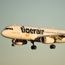 A Tigerair flight was turned around after receiving a threat.