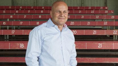 'Full of goodies': rugby boss hits back at Alan Jones 'show bag' jibe