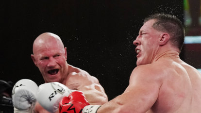 Gallen-Hall slugfest whets the appetite for longer rematch