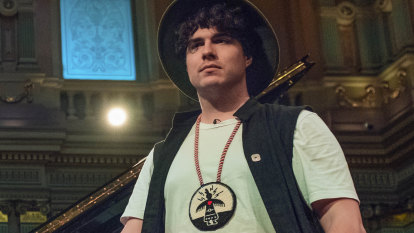 Jeremy Dutcher says it's time to hand Indigenous people the microphone