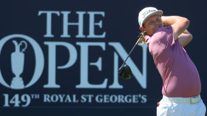 Smith eyes Olympics after frustrating end to British Open
