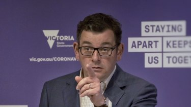Daniel Andrews says he had no choice but to keep Victoria in lockdown.