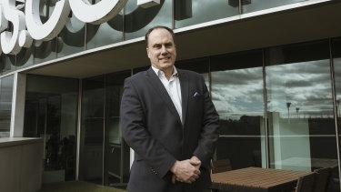 Carsales chief executive Cameron McIntyre.