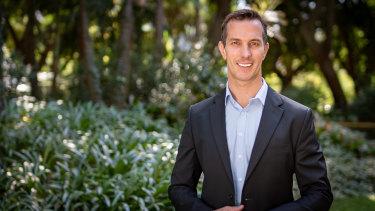 Nathan Blackburne, managing director of Cedar Woods.