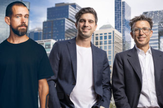 Jack Dorsey and Afterpay co-founders Nick Molnar and Anthony Eisen will merge their companies.