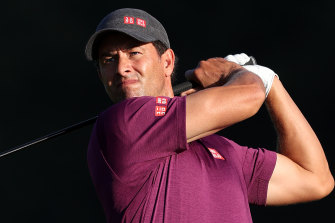 Former Masters champion Adam Scott says he is tired of playing 'mediocre golf'.