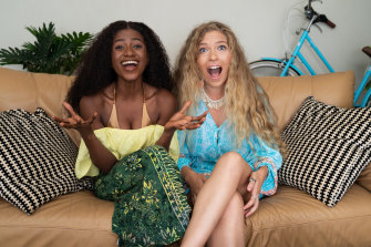 Gogglebox newcomers Kaday and Chantel.