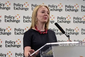 "British Trade Secretary Liz Truss has said Tony Abbott is an ""inspiration"" to Conservatives."