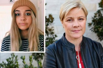 Nineteen-year-old Alex Ross-King, left, died after consuming MDMA at FOMO festival and her mum Jennie Ross-King.