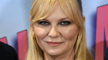 Kirsten Dunst at a screening of her new show On Becoming a God in Central Florida, a show centred on success and charisma.