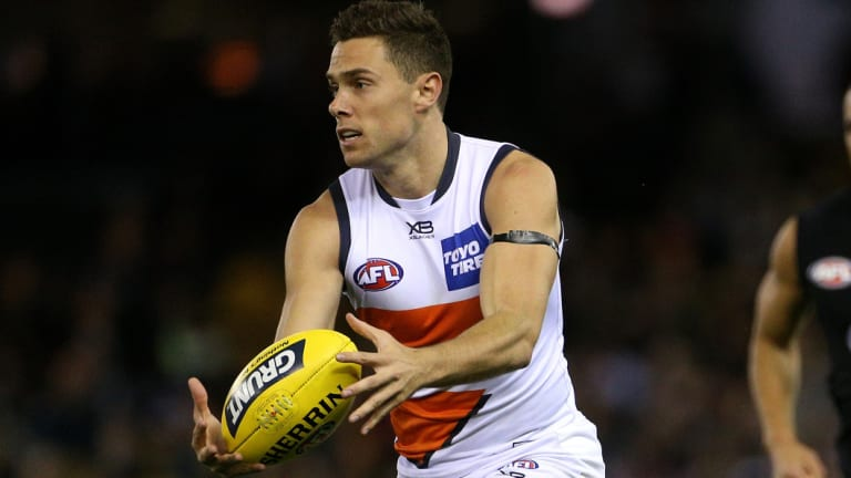 """Wounded knee: Josh Kelly given a """"minor"""" chance of playing in the semi-final against Collingwood."""