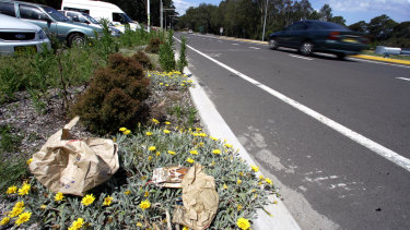 The TCCS employee was run over while they were picking up rubbish from the side of a Canberra road.