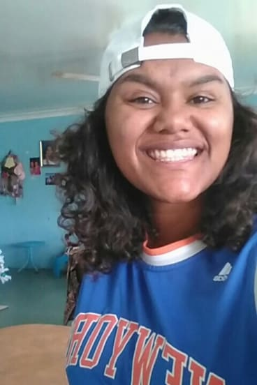 Inala teen Lenesha Duncan says young people need to know they are not alone.
