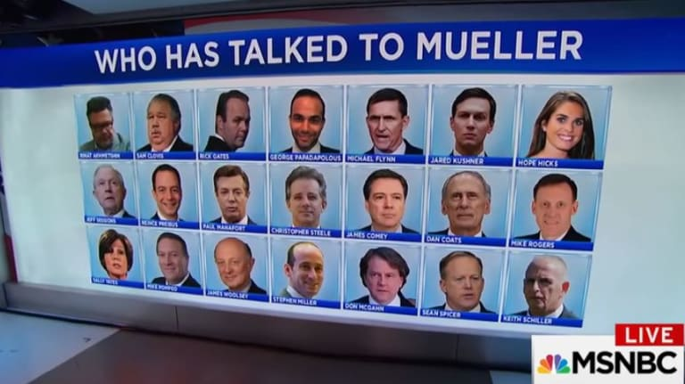 The list of people who have already talked to Special Counsel Robert Mueller about Russian meddling int he presidential election is long.