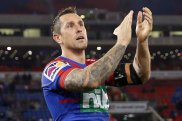 Mitchell Pearce looks almost certain to depart the Knights.