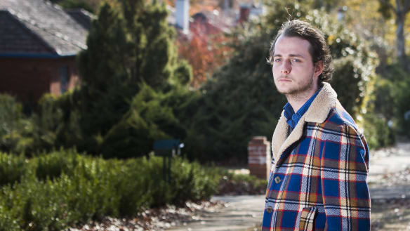 Why some Canberra uni students are pitching tents and sleeping in libraries