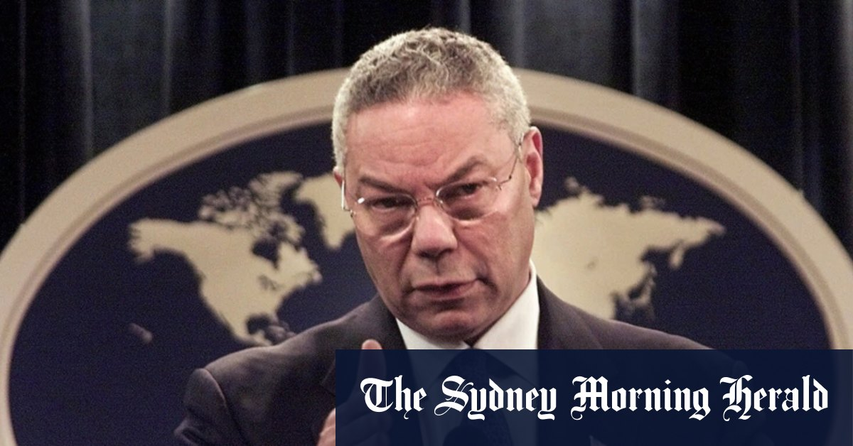 Former US secretary of state Colin Powell dies of COVID-19 complications – Sydney Morning Herald