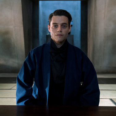 Rami Malek plays the film's villain, Safin.