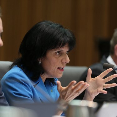 Banks won plaudits for her questioning of ANZ CEO Shayne Elliott at a standing committee in 2016.