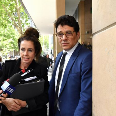 Colosimo appeared at Melbourne Magistrates' Court in November 2017 on a drug-driving charge.