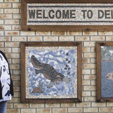 Delegate resident Nicole Mellon was shocked to learn the town didn't have clean drinking water.