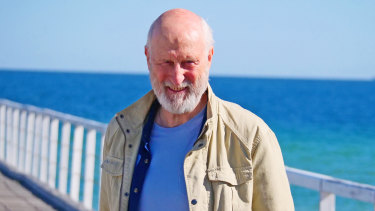 James Cromwell and Jacki Weaver in Never Too Late.