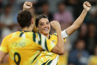 The Matildas' new away kit will soon be available to purchase in women's sizes.
