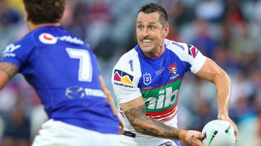 Some at the Tigers believe Mitchell Pearce would be a good foil for Luke Brooks at five-eighth.