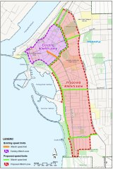 Fremantle for an expansion of its 40km/h zone.