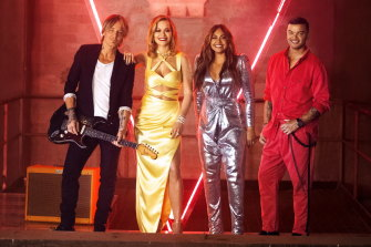 They'll be back, twice: Keith Urban, Rita Ora, Jessica Mauboy and old boy Guy Sebastian will return in two iterations of The Voice.