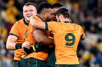 Viewed through a lens of simply winning the match, the Wallabies may be satisfied, but far sterner tests await.
