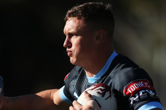 Jack Wighton can cover plenty of positions, and looks set to be used on an edge against Queensland.