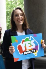 Rugg was one of the most prominent faces of the Yes campaign.