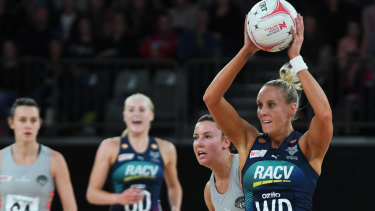 Left behind:  Renae Ingles will be one of just two Melbourne Vixens players not with the Diamonds squad.