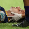 Eels back-rower Ryan Matterson has been sidelined for four weeks after suffering a concussion in round two.