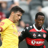 'Schoolboy defending': Adelaide wonder kid scores again as Wanderers' unbeaten run ends