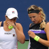 Barty, Azarenka eyeing differing shots at history in US Open doubles final