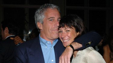 Jeffrey Epstein and his girlfriend and personal assistant Ghislaine Maxwell in 2005.