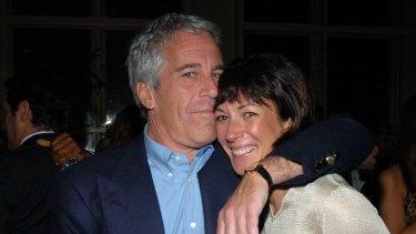 Jeffrey Epstein and Ghislaine Maxwell in New York in 2005.