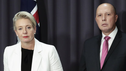 McKenzie, Dutton put democracy at risk with actions that reek of playing politics with public money