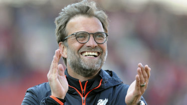 Full of praise: Liverpool boss Jurgen Klopp.