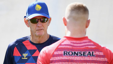 Tour gone wrong: Wayne Bennett's future with England hangs in the balance.