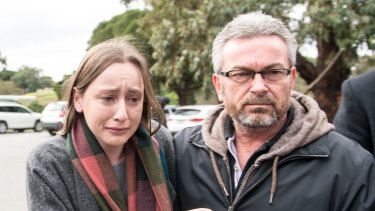 Borce Ristevski and his daughter Sarah.