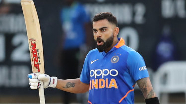 India's captain Virat Kohli was in blistering form against the West Indies.