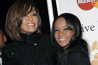 Whitney Houston, left, and daughter Bobbi Kristina Brown in 2011.