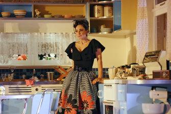 Andrea Demetriades in Sydney Theatre Company's Home, I'm Darling