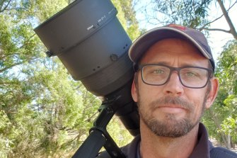 Campbell Paine does not consider himself a citizen scientist, but says he is keen to use his hobby to manage biodiversity.