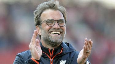 Full of praise: Liverpool boss Jurgen Klopp.